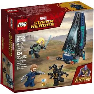 LEGO Avengers Ataque de la nave de los Outriders