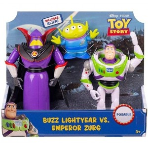 Buzz vs Emperador Zurg
