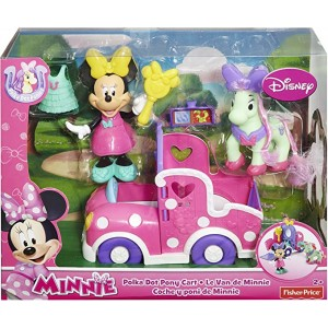 Minnie Camioneta Poni Lunares