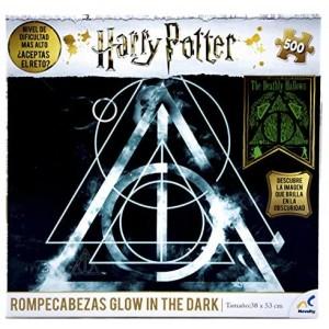 Rompecabezas Harry Potter Glow In The Dark