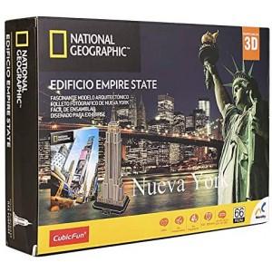 Rompecabezas 3D National Geographic City Travel Nueva York - Empire State Con 120Pzs
