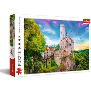 Rompecabezas Castillo Liechtenstein, Alemania  68.3 x 48 cm