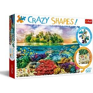Rompecabezas Isla Tropical Crazy Shapes 68 x 48 cm